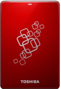 Toshiba Canvio V6  500 GB External Hard Disk (Red)
