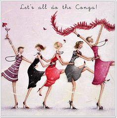 Pocas cosas hay más divertidas que salir de compras... con amigas? bueno, sí, salir a bailar con amigas!  salir a comer con amigas... jajaj...