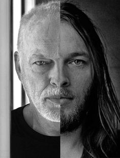 David Gilmour 1970s & today.   ❤️