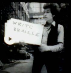 Bob Dylan: Get Born - Write Braille