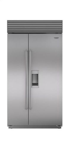 "BI42SDSPH in by Sub-Zero in Norwich, CT - 42"" Built-In Side-by-Side Refrigerator/Freezer with Dispenser"