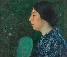 Artwork by Eisaku Wada, Woman, Made of oil on canvas Magazine Art, Art Market, Oil On Canvas, Woman, Artwork, Artist, Work Of Art, Auguste Rodin Artwork, Artists