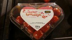Valentine snack tomatoes