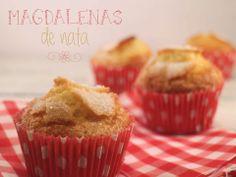Cook the cake: Magdalenas de nata