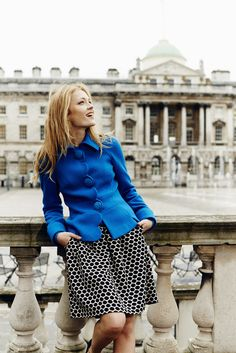 True blue. Shop with 15% off for 24 hours with code LDN1 (UK) or LDN2 (US) #Boden #AW14