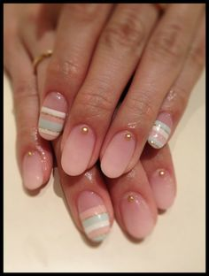 minus the strips Nail Polish Style, Nail Polish Designs, Nail Art Designs, Love Nails, How To Do Nails, Fun Nails, Sexy Nails, Spring Nail Trends, Spring Nail Art