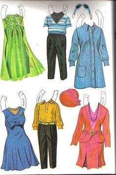 julia paper dolls - Bing Images