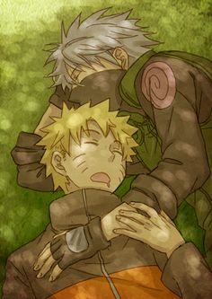 Afternoon nap | Kakashi and Naruto | KakaNaru