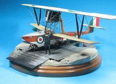 Macchi M5 with Pheon Models decals, Blue Max wing 1/48