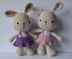 Easter Bunny Amigurumi Pattern by sdroppelmann on Etsy