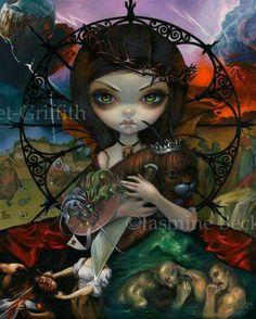 Useelie Court: Wrath by Jasmine Becket-Griffith