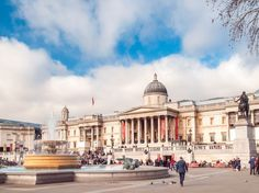 The National Gallery is home to more than 2,000 paintings from world-class artists like Goya, Van Gogh, Cezanne, and Hogarth. It's also free to visit, like many museums in Britain, which keeps it popular with locals and travelers alike.