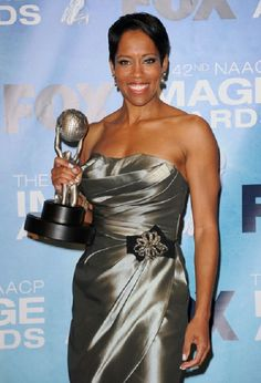 """Regina King won an award for Outstanding Actress in a Drama Series """" Southland """" at the 42nd NAACP Image Awards 2011."""