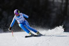 March 27 2018 - Melania Corradini moves a step closer to the World Para Alpine Skiing Europa Cup title with victory in the women's Super-G standing event in Switzerland 