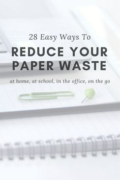 Paper is a fixture of our modern lives, but at what cost? Read on to discover why paper use is about more than deforestation and what you can do about it. Recycling Facts, Zero Waste Store, Homework Organization, Life Hacks, Waste Reduction, Green Living Tips, Reduce Reuse Recycle, Waste Paper, Sustainable Living