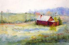 Judy Mudd    WATERCOLOR