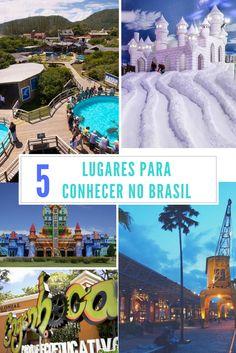 5 dicas de lugares no Brasil para conhecer com as crianças.