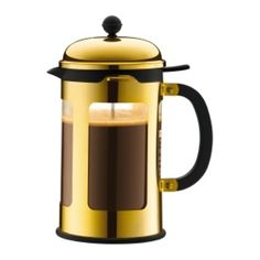 Bodum 1117317 12 Cup Chambord French Press Coffee Maker 51 oz Gold *** Click image to review more details.  This link participates in Amazon Service LLC Associates Program, a program designed to let participant earn advertising fees by advertising and linking to Amazon.com.