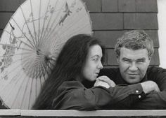 """Raymond Carver & Tess Gallagher  """"And did you get what you wanted from this life, even so? I did. And what did you want? To call myself beloved, to feel myself beloved on the earth.""""  ― Raymond Carver"""