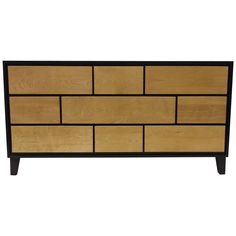 Modern Maple Dresser by Russel Wright for Conant Ball