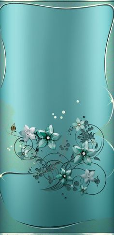 By Artist Unknown. Teal Wallpaper, Phone Screen Wallpaper, Wallpaper For Your Phone, Butterfly Wallpaper, Cute Wallpaper Backgrounds, Pretty Wallpapers, Cellphone Wallpaper, Mobile Wallpaper, Iphone Wallpaper