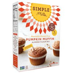 Pumpkin Muffin Mix @thehealthyapple @simplemills