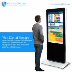 With #DigitalSignage #advertisements, sponsored #messages or #product placements can be incorporated onto your screens to generate extra #revenue. #TucanaGlobalTechnology #Manufacturer #HongKong