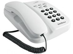 Telefone Com Fio Intelbras TC 500 - Chave Bloq. Branco com as melhores condições você encontra no Magazine Ofertassoonline. Confira!
