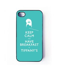 ♡ If I get the next iPhone & it's the same size as as the iphone5 ah!>iPhone 5 case, tiffanys  iphone cover, iphone 5 cover, breakfast at tiffanys case. $15.99, via Etsy.