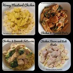 The road to loving my Thermomix: Avoiding shredded chicken breast in the Thermomix Meals For One, Main Meals, Chicken Spinach Pasta, Chicken Satay, Sausage Rolls, Honey Mustard, Shredded Chicken, Chicken And Vegetables, Chicken Recipes