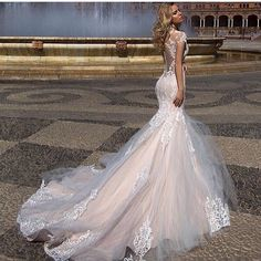 View all  Instagram posts, videos and stories on somegram.com #somegram #wedding #weddingdress #weddingdresses #instawebviewer Used Wedding Dresses, Bridal Dresses, Lace Applique, Bodice, Backless, Mermaid, Beautiful, Bob Cut, Curly Blonde