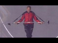 Nik Wallenda Tightrope Walk Over Niagara Falls--Mirette on the High Wire