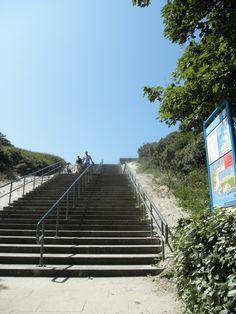 Trap naar het strand Burg Haamstede