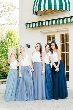 Mix and Match Revelry Bridesmaid Dresses and Separates.Revelry has a wide selection of unique bridesmaids dresses including tulle skirts, classic chiffon dresses, trendy off the shoulder formal gowns…More CLICK Visit link for more details Bridesmaid Skirt And Top, Bridesmaid Separates, Unique Bridesmaid Dresses, Sequin Bridesmaid, Wedding Bridesmaid Dresses, Boho Bridesmaids, Wedding Entourage Gowns, Short Beach Dresses, Perfect Wedding Dress