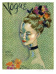 Vogue Cover - July 1935 Regular Giclee Print