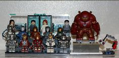 LEGO Iron Man legion