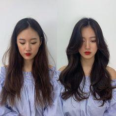 Korean Long Hair, Korean Hair Color, Korean Haircut Long, Asian Haircut, Haircuts Straight Hair, Haircuts For Medium Hair, Long Hair With Bangs, Long Hair Cuts, Long Layered Hair