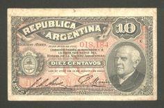 Argentina, Banknote, 10 Centavos 1895, P 228 a, F/VF !