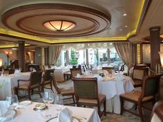 Cunard Queen Elizabeth Queens Grill Restaurant by garybembridge, via Flickr