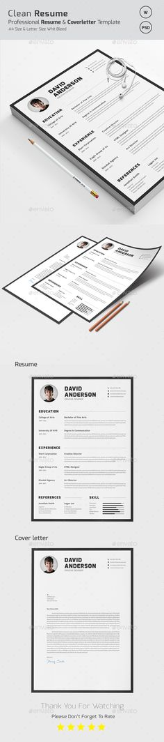 CV Word Ai illustrator, Cv template and Modern resume - resume word template download