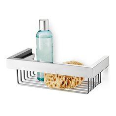Houd je badkamer netjes en plaats je shampoo en douchegel op een douchemand. Om extra ruimte te besparen plaats je deze in de hoek, zoals de Zack Linea douchemand doet.  Schroeven zijn inbegrepen voor de twee montagepunten. 109 EUR