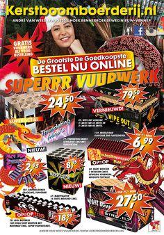 Bestel nu alvast jouw favoriete vuurwerk online bij de Kerstboomboerderij.nl. Klik deze link om direct op de website te bestellen: www.kerstboomboerderij.nl