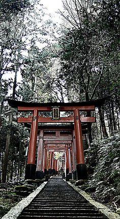 Mount Inariyama, Inariyama, Kyoto, Japan