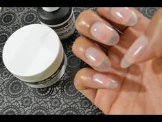 ▶ How To Gel Nails At Home (Super Easy) Featuring Sheba Nails GelCrylicSystem - YouTube