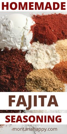 Homemade Fajita Seasoning Mix Recipe - why buy store bought when you probably already have all the spices at home? | Homemade Seasoning Mixes | Fajita Recipes | Homemade Fajita Recipe | Homemade Condiments #seasoningmix #homemadeseasoningmix #fajitaseasoningmix #seasoningmixrecipe #bestseasoningmixrecipe