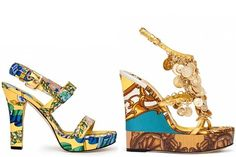 WOW! Amazing D&G Spring Summer Shoe 2012 Collection | The MO-AM Network