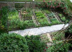 Small+Garden+Design | ... Garden Design, Our Vegetable Garden Project: Vegetable Garden Design