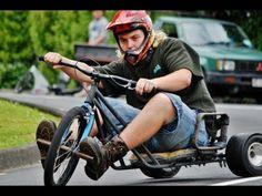 "Its more fun than you can imagine ""Drift Trikes Whangarei - Christmas Slide - DHM 2011"""