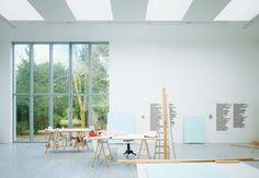 Herzog & de Meuron - Studio for Rémy Zaugg http://workspaces.tumblr.com/post/25243414496/herzog-de-meuron-studio-for-remy-zaugg
