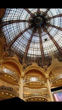 The galleries; Paris France
